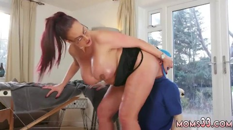 Milf fucks a guy, anal sex and ass licking
